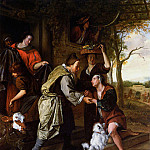 Jan Havicksz Steen - Steen Jan Return of the prodigal son Sun