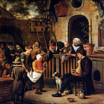 Jan Havicksz Steen - Steen Jan The little collector Sun_2