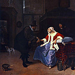 Jan Havicksz Steen - STEEN_Jan_Love_Sickness