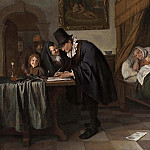 Jan Havicksz Steen - The Doctor's Visit
