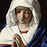 Hanna Pauli - The Virgin praying
