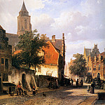 Корнелис Спрингер - Springer Cornelis Church in Zaltbommel