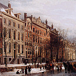Корнелис Спрингер - Springer Cornelis The Herengracht aan de Amstel 2 Sun