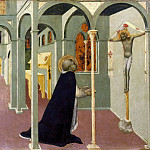 Jacques Courtois - Vision of Saint Thomas Aquinas