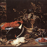 Франс Снейдерс - SNYDERS_Frans_Still_life_With_Crab_And_Fruit