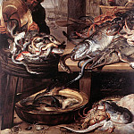 Франс Снейдерс - SNYDERS_Frans_The_Fishmonger