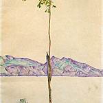 Egon Schiele - Schiele Little Tree (Chesnut Tree at Lake Constance), 1912,