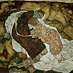 Egon Schiele - schiele.death-and-girl