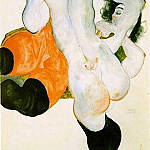 Egon Schiele - Due donne 2