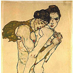 Egon Schiele - Friendship