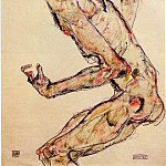 Egon Schiele - Schiele Fighter, 1913, 48.8x32.2 cm,