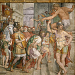 Musei Vaticani - fresco - Donation of Pepin