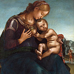 Luca Signorelli - THE MADONNA AND CHILD