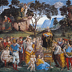 Luca Signorelli - Moses's Testament and Death