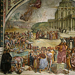 Luca Signorelli - Sermon and Deeds of the Antichrist