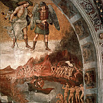 The Damned Being Plunged into Hell, Luca Signorelli