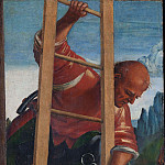 Luca Signorelli - Man on a Ladder