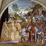 Benedict Recognizes and Receives Totila, Luca Signorelli
