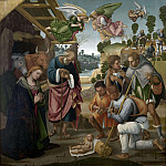 Adoration of the shepherds, Luca Signorelli