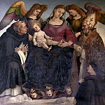 Madonna with saints, Luca Signorelli