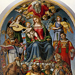 Virgin and Child with Saints and Niccolo Gamurrini, Luca Signorelli