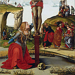 Uffizi - The Crucifixion with St. Mary Magdalen