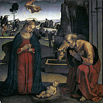 Adoration of the Child, Luca Signorelli