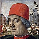 Portrait of an older man, Luca Signorelli