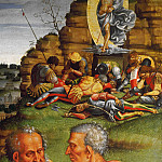 Luca Signorelli - Deposition from the Cross, detail