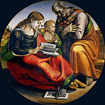 Uffizi - The Holy Family