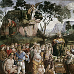 Moses's Testament and Death , Luca Signorelli