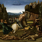 Luca Signorelli - Saint George and the Dragon