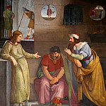 Johann Friedrich Overbeck - Joseph in Prison Interprets the Dreams of the Butler and Baker