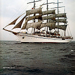 D K Spinaker - dk tall ships sea cloud lyr 1932