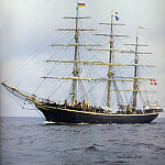 D K Spinaker - dk tall ships georg stage full rig lyr 1935
