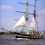 DK Spinaker - dk tall ships young america lyr 1975