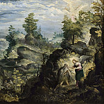 Gustaf Wilhelm Palm - The Hermit Onofrius in the Wilderness