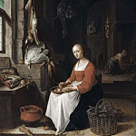 Lorens Pasch the Younger - Kitchen Scene