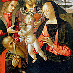 Niccolo (Niccolo da Foligno) Alunno - Adoration of the Magi