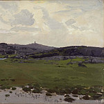 Hubert Robert - View of Galtrö. Study