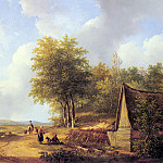 Andreas Schelfhout - Schelfhout_Andreas_The_Country_Road