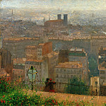 Franz Skarbina - View of Paris