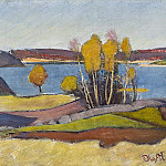 Lauritz Anderson Ring - Autumn at Lake Vänern (Åmål)