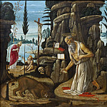 Giovanni Francesco Romanelli - The Penitent St Jerome