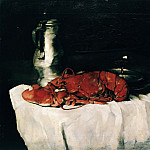 Carl Blechen - Still Life with Lobster
