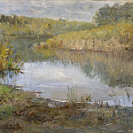 Georg Engelhard Schröder - A River in France. Study