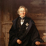 Theodor Grosse - Portrait of the Historian Leopold von Ranke