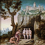 The Judgement of Paris, Hans (I) Schopfer