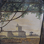 View to the Quirinal from the Villa Malta, Rome