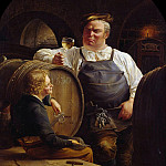 Gustav Adolf Boenisch - Tasting of the Rhine Wine